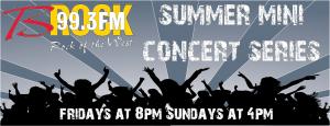 2016 Summer Concert Series Banner